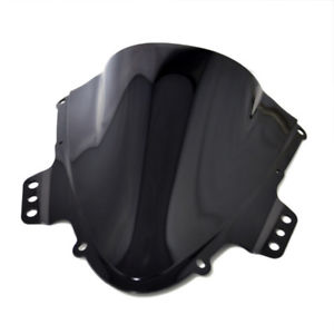 1pc Black Motorcycle Windscreen Windshield For Suzuki GSXR600750 K5 2005-2006