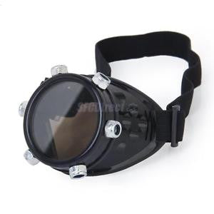 Alcoa Prime Steampunk Monovision Eyepatch Victorian Gothic Cyber Gothic Monocle Goggle Black