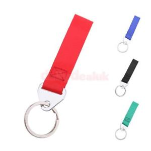 Alcoa Prime Decoration Car Trailer Racing Tow Hook Red Strap Metal Keyring Key Chain