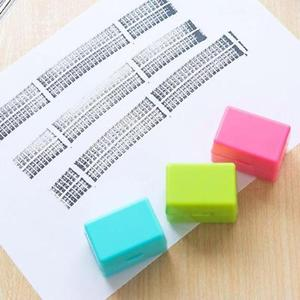 5Pcs Guard Your ID Roller Stamp SelfInking Stamp Messy Code Security Office BU