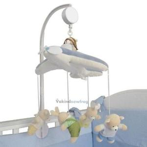 Alcoa Prime 5X Baby Crib Mobile Bed Bell Toy Holder Arm Bracket+Wind-up Clockwork Music Box
