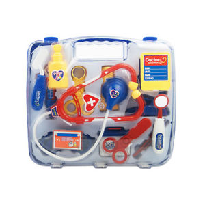 Kid Child Pretend Toy Set Medicine Box Doctor Nurse Medical Kit Playset Gracious