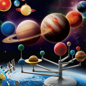 Solar System Planetarium Model Kit Astronomy Science Project DIY Kids GiftEG