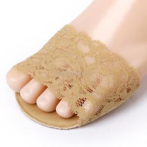 Alcoa Prime Anti-slip Lace Band Ball of Foot Metatarsal Pads Forefoot Cushion Foot Care