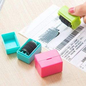 Guard Your ID Roller Stamp SelfInking Stamp Messy Code Security Office Pro US