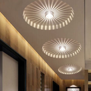 Alcoa Prime 3W LED Aluminum Ceiling Light Fixture White Pendant Lamp Lighting Chandelier #