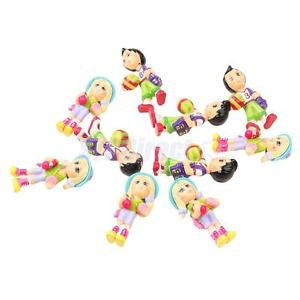 Alcoa Prime Pack/10pcs DIY Sports Kids Model Figures People for Decoration Scenery 1:30