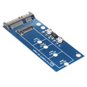 Alcoa Prime SATA III to M.2(NGFF) SSD Board Adapter Converter Card PCB Connections