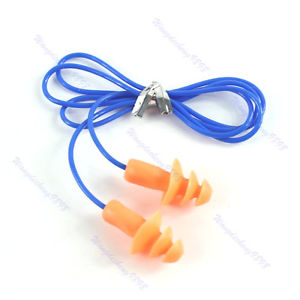 Tree Shape Soft Silicone Ear Plug Hearing Protector New