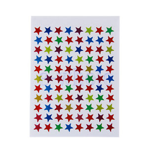 Stylish DIY 880Pcs Star Shape Stickers Labels For Children Teacher Reward Craft