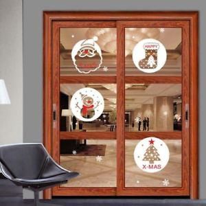 Alcoa Prime Christmas Window Decoration Stickers from Home Decor Wall Paper Wall Sticke H2O4