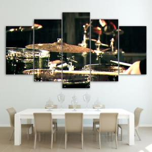 Alcoa Prime DIY Canvas Modern Deco Wall Painting Percussion No Framed 30*50/70/80cm L