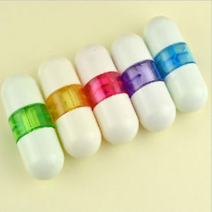 Tape Pill Shaped Design Trendy For Student Gift 5PCS Cartoon Cute Novelty