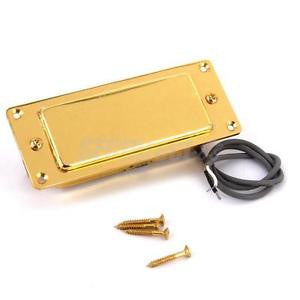 Alcoa Prime VINTAGE Mini Humbucker Pickup & Gold Surround fit Les Paul Electric Guitar