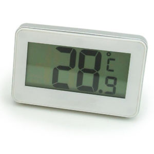 -20 to 60℃ Wireless LCD Digital Thermometer Alarm W/ Hook For Refrigerator Free