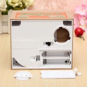 Alcoa Prime 1x White Cat Automatic Itazura Stealing Bank Money Coin Collection Saving Box MT
