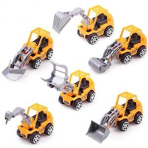 Alcoa Prime Funny Yellow Truck Model Mini Toy Construction Truck For Kids Children Play Gift