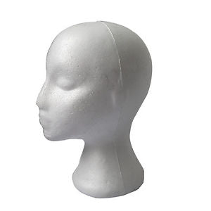 Women Mannequin Manikin Head Model Wig Hair Hat Display Styrofoam Foam LE