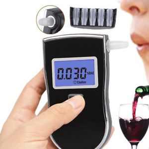 Advanced Police Digital Breath Alcohol Tester Breathalyzer Analyzer Detector CX