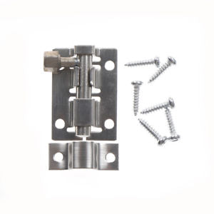 latch Furniture Door Lock Home Stainless Steel Latches Stapler DIY Materials TO