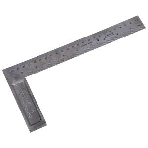 90 Degree 25cm Length Stainless Steel L-Square Angle Ruler