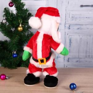 Christmas Santa Claus Figure Twisted Hip Twerking Singing Electric Toy Xmas Gift