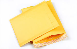 New Year New You Small Kraft paper Bubble Bags Padded Envelopes Mailers TB
