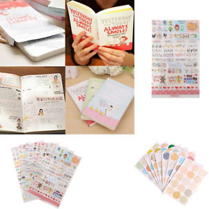 """Always Smile"" boxed Diary Schedule Notebook Notepad Notes Calendar Planner"
