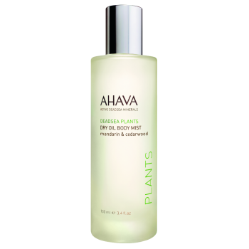 Ahava Dry Oil Body Mist ~ Mandarin & Cedarwood