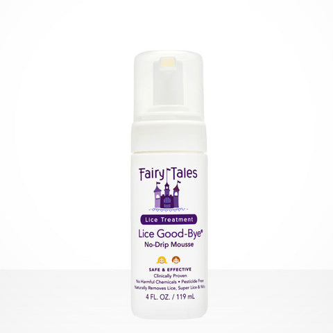 Fairy Tales¨ Lice Good-bye¨ Natural Treatment 4 fl oz / 119 ml