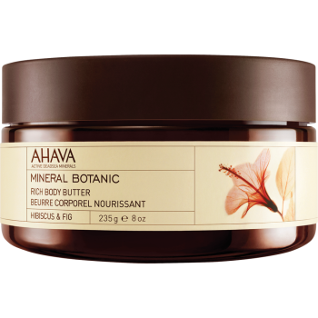 Ahava Mineral Botanic Body Butter - Hibiscus & Fig