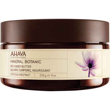 Ahava Mineral Botanic Body Butter - Lotus & chestnut