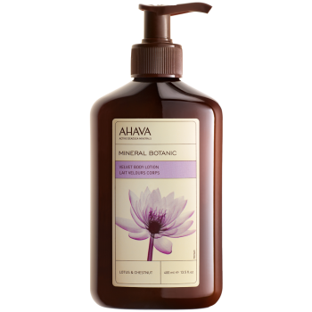 Ahava Mineral Botanic Body Lotion - Lotus Flower & Chestnut