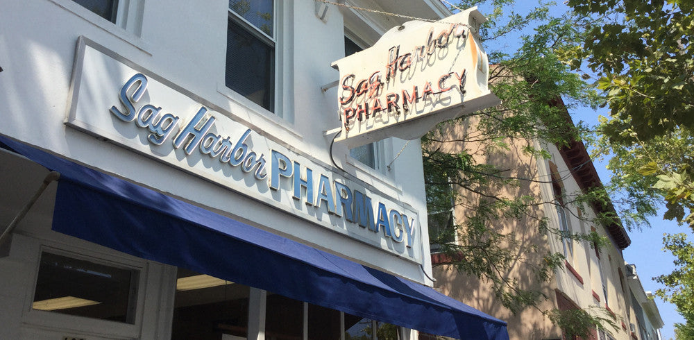 vintage Sag Harbor Pharmacy
