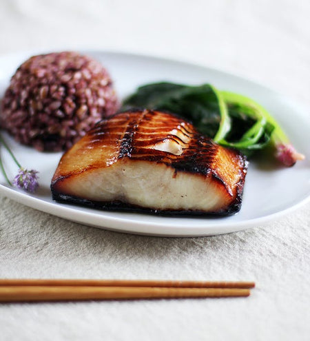 Nobu Inspired Miso Marinated Cod