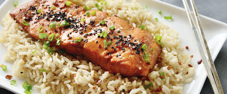 Glazed Salmon With Miso And Orange