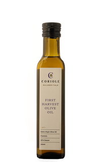 Coriole First Harvest Extra Virgin Olive Oil 2019 (250ml) - The Fishwives Singapore