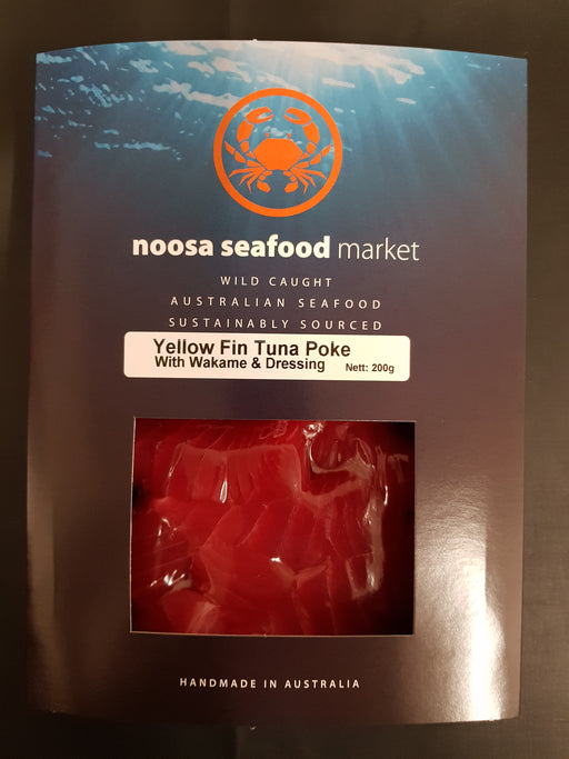 Tuna Poke Bowl 200g+/- Noosa Seafoods - WILD CAUGHT - FROZEN