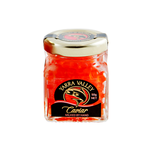 50g Australian Salmon Caviar Jar - Yarra Valley Caviar - The Fishwives Singapore
