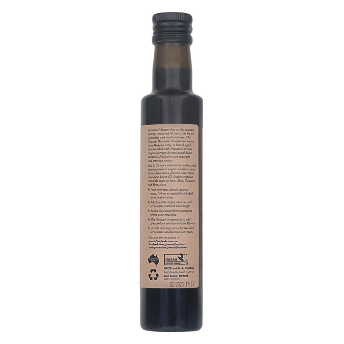 Organic Sweet Balsamic Reduction - 250ML