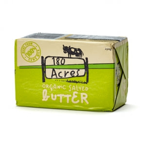 Organic Salted Butter 250g - 180 Acres