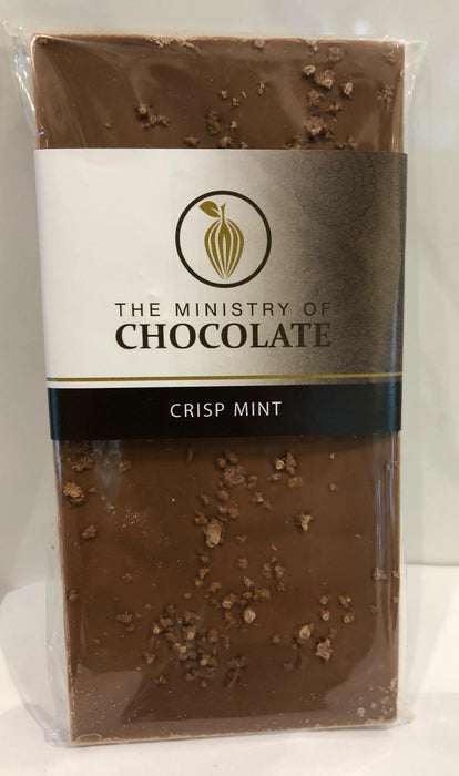 Crisp Mint Chocolate Bar 100g - Ministry of Chocolate - The Fishwives Singapore