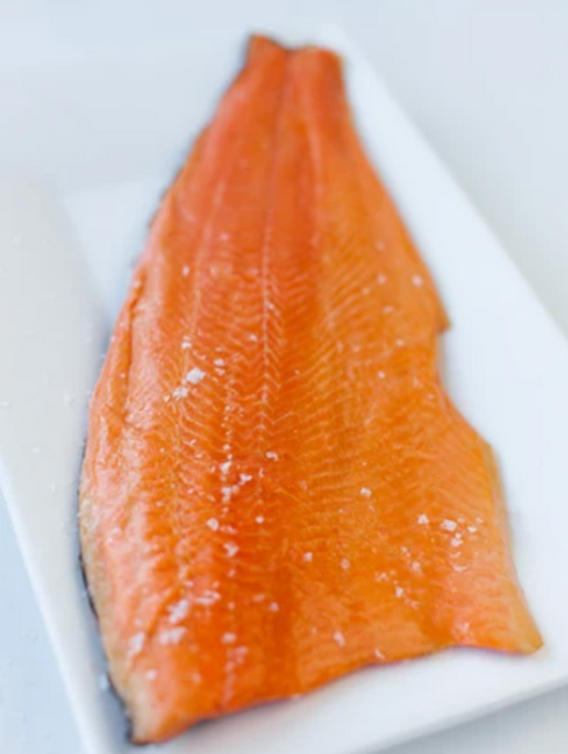 Akaroa Hot Smoked Salmon Side (approx 1kg)