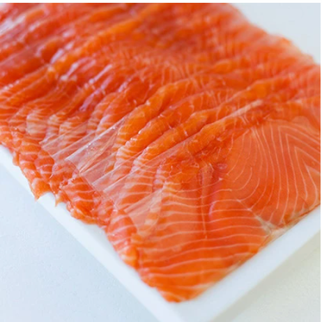 Akaroa Cold Smoked Salmon  (Sliced & Interleaved) (Usually arrives on every Friday)