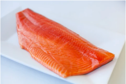 **FROZEN** Akaroa Cold Smoked Salmon Whole Side (Unsliced)