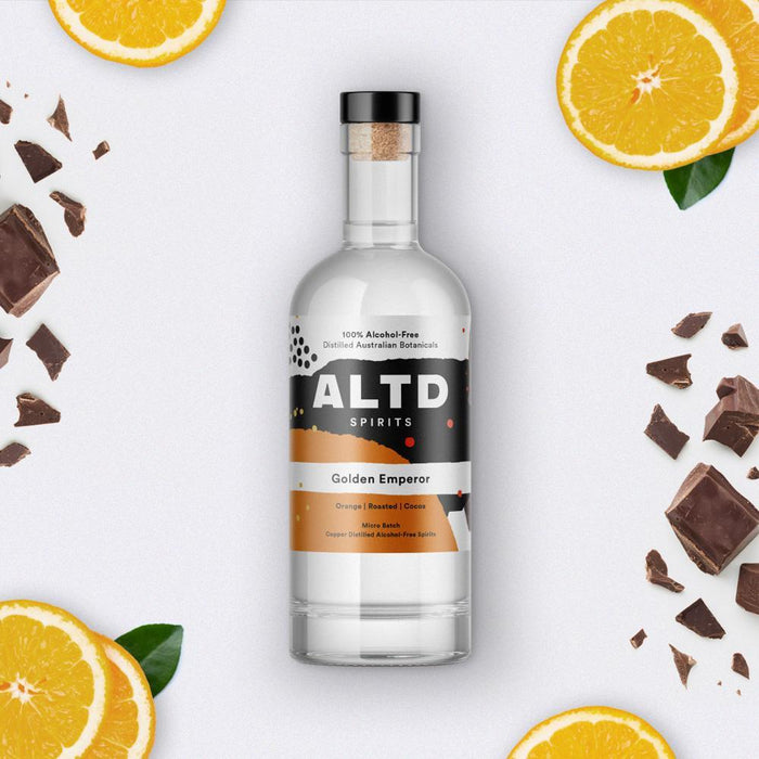 Alt'd Spirits (0% Alcohol) - Golden Emperor - 700ml