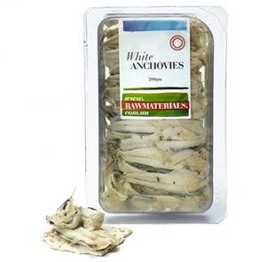 Raw Materials White Anchovies 200g