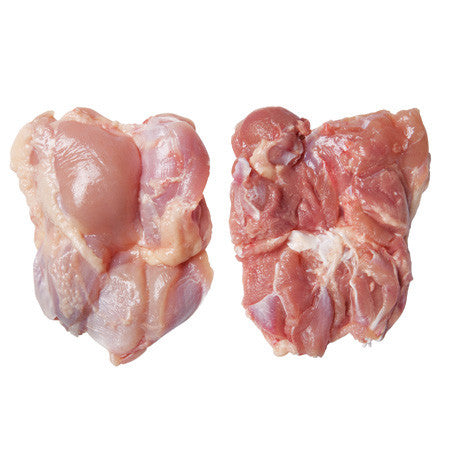 Fresh Anxin Hormone & Antibiotic Free Boneless Chicken Legs (Skin On) -  650g +/- - The Fishwives Singapore
