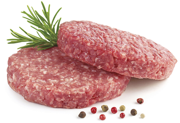 Beef Burger Patties - Australian Organic Beef 2Pc/Pk - FROZEN