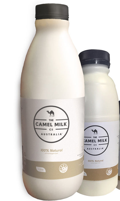 Fresh Unhomogenised 100% Natural Australian Camel Milk - The Fishwives Singapore